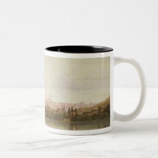 Prague, Czechoslovakia Two-Tone Coffee Mug