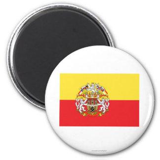 Prague Flag Fridge Magnet