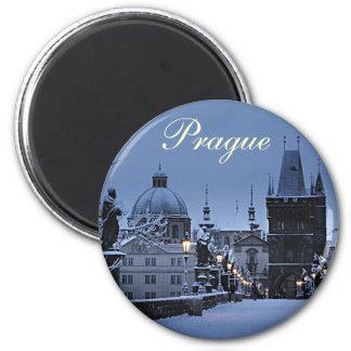 Prague fridge magnet