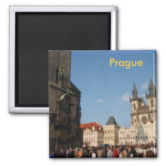 prague fridge magnet