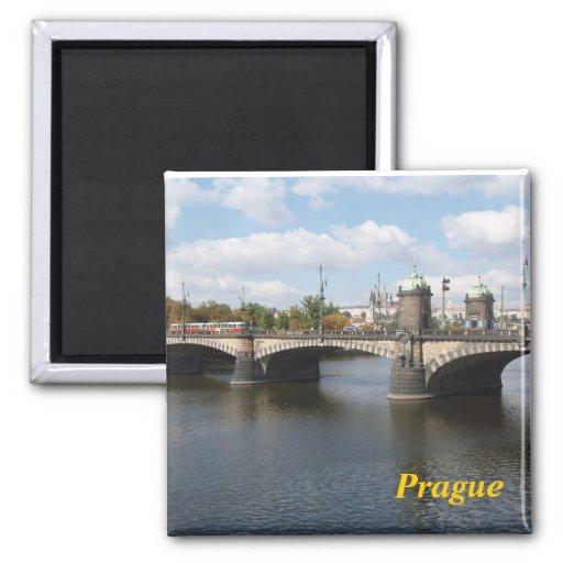 Prague kitchen magnet