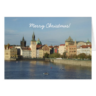 Prague Merry Christmas Card