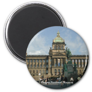 Prague National Museum Magnet