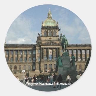 Prague National Museum Sticker
