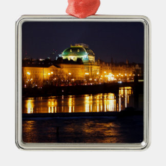 Prague National Theater Christmas Ornament