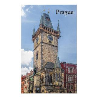 Prague Old Town Hall Czech Republic Photo Print