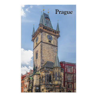 Prague Old Town Hall Czech Republic Photograph
