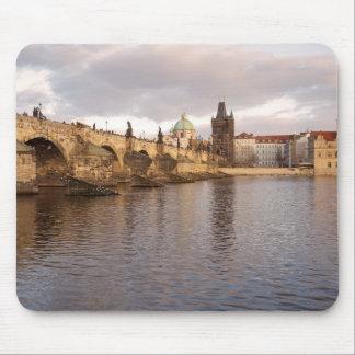 Prague Old Town souvenir photo Mouse Mat