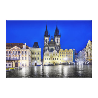 Prague Old Town Square Canvas