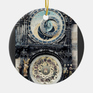 Prague Orloj Christmas Ornament