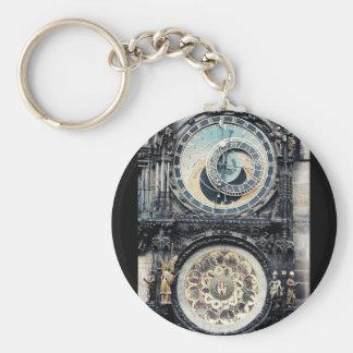 Prague Orloj Key Chains