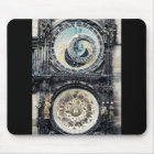 Prague Orloj Mouse Mat