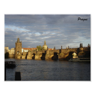 Prague Poster Charles Bridge