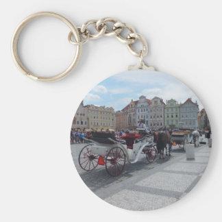 Prague / Praha custom key chain