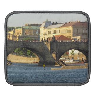 Prague / Praha custom laptop/ iPad sleeve