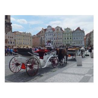 Prague / Praha custom postcard