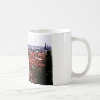 Prague Red Roofs Coffee Mug
