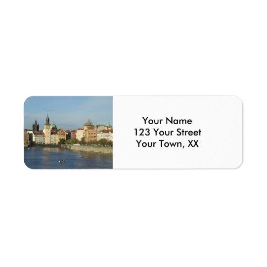 Prague Return Address Labels