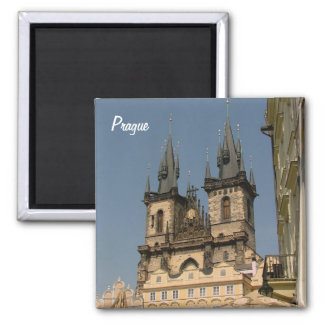 Prague Square Magnet