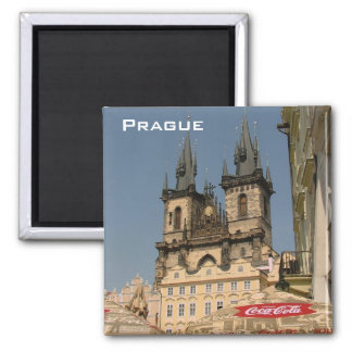 Prague Square Magnet