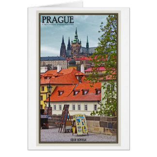 Prague - St Vitus Cathedral Card