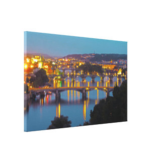 Prague View Canvas Print
