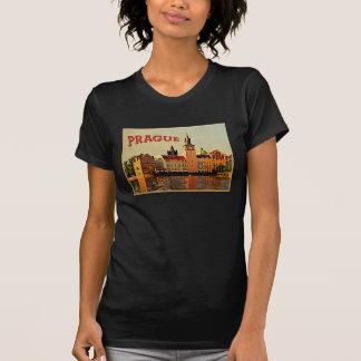 Prague Vintage Travel T-Shirt