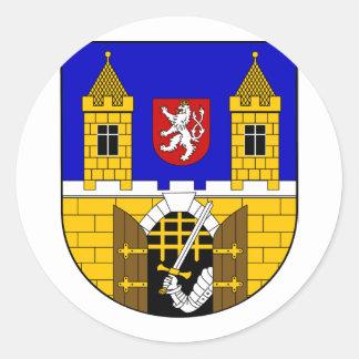 Praha 01, Czech Classic Round Sticker