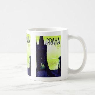 Praha Basic White Mug