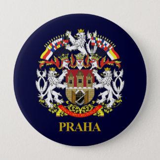 Praha (Prague) 10 Cm Round Badge