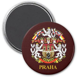 Praha (Prague) 7.5 Cm Round Magnet