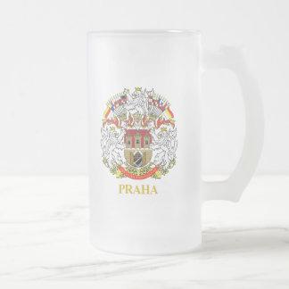 Praha (Prague) Frosted Glass Mug