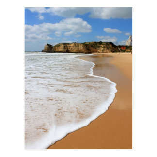Praia da Rocha, Algarve beach in Portugal Postcard