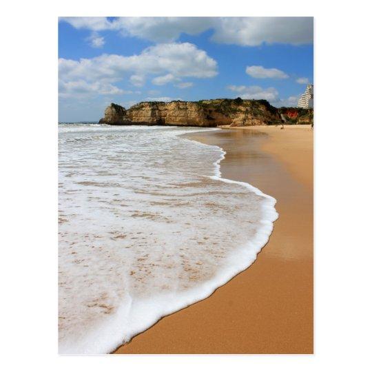 Praia da Rocha, Algarve beach in Portugal Postcard