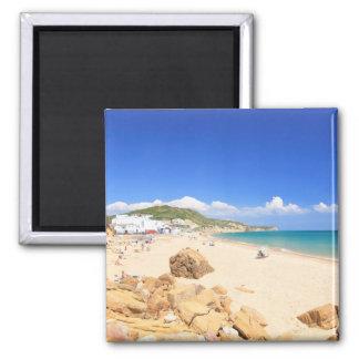 Praia da Salema Refrigerator Magnet