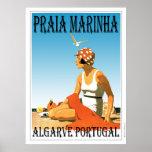 Praia Marinha Beach, Algarve Portugal Poster