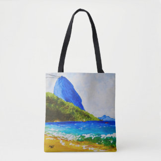 Praia Vermelha (Red Beach) Tote Bag