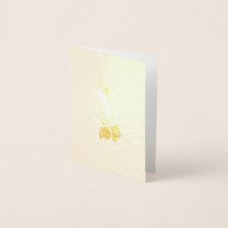 Prairie Coneflower Design Foil Card