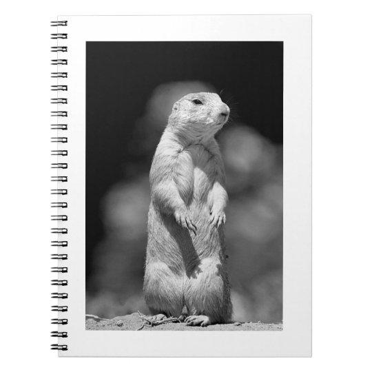 Prairie Dog#1-Notebook Notebook