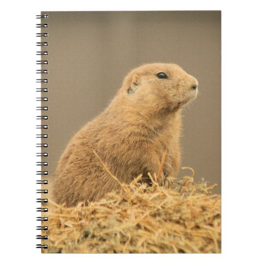 Prairie Dog Aint I Cute Notebook