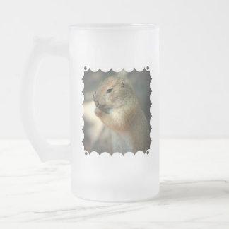 Prairie Dog Frosted Beer Mug