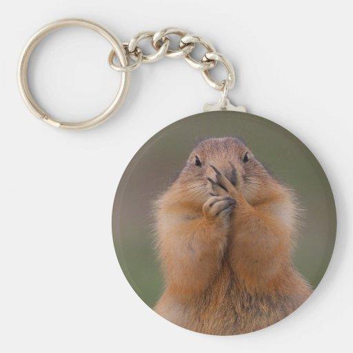 prairie dog key chain