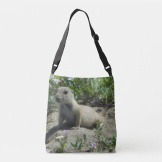 Prairie dog messenger bag