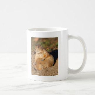 prairie dog basic white mug