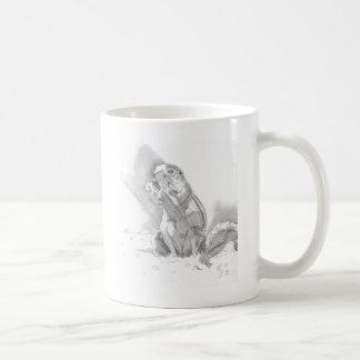 prairie dog pencil drawing mug