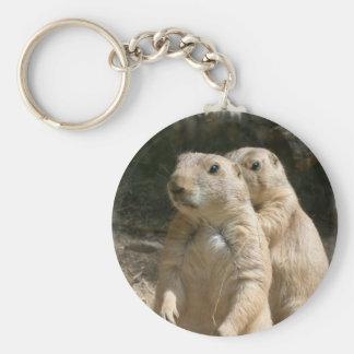 Prairie Dog Photo Keychain