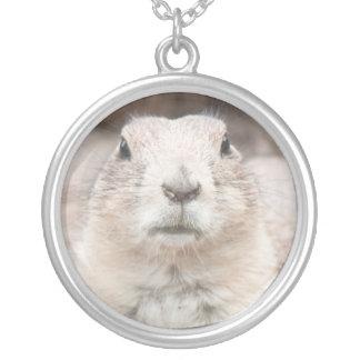 Prairie dog portrait custom jewelry