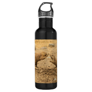 Prairie Dogs Give Me Some Skin 710 Ml Water Bottle