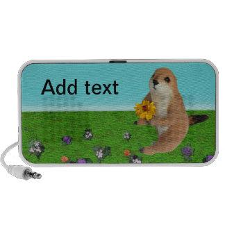 prairie dog's stuffed toy , Doodle speaker