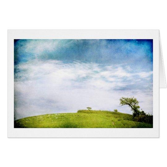 Prairie Earth and Sky Card